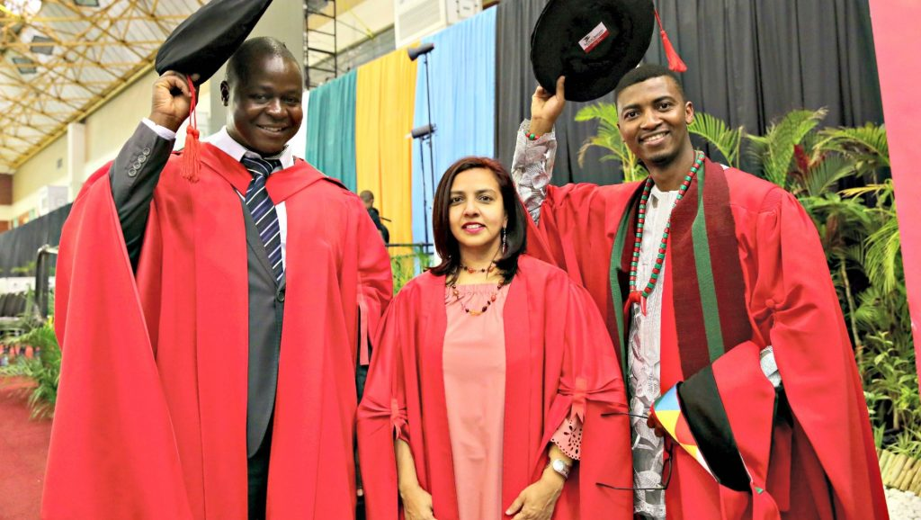 Graduates celebrate attaining PhDs in Anthropology