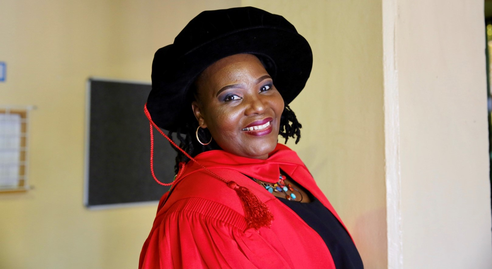 Dr Mabuyi Gumede graduated with her PhD in Cultural and Heritage Tourism.