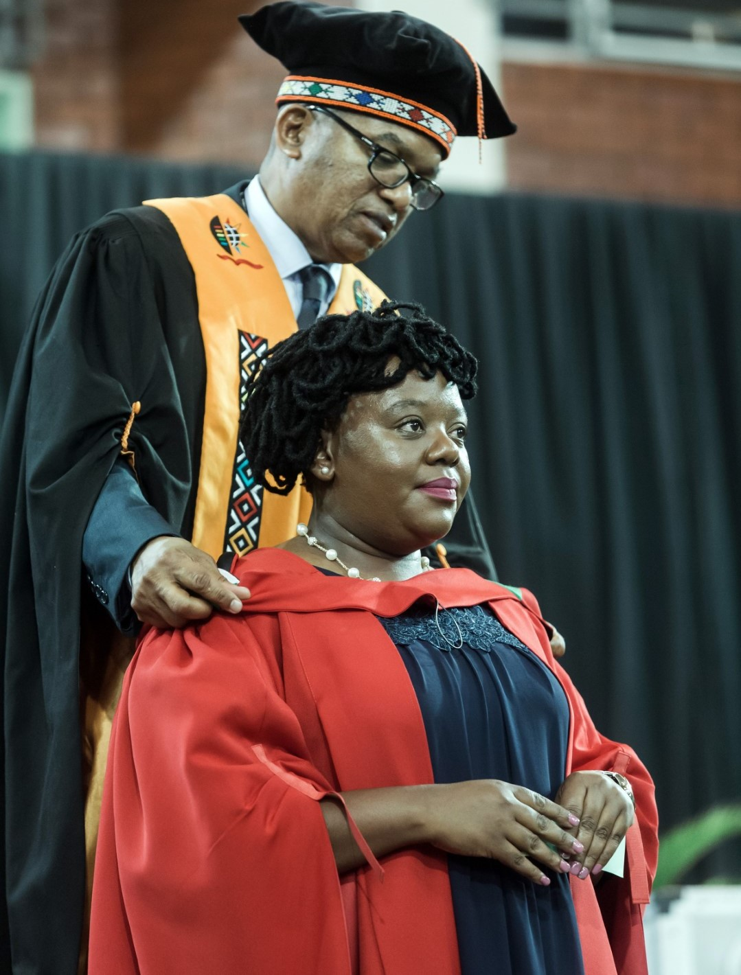 UKZN Staffer Dr Lungile Zondi graduates with her PhD in Anthropology.
