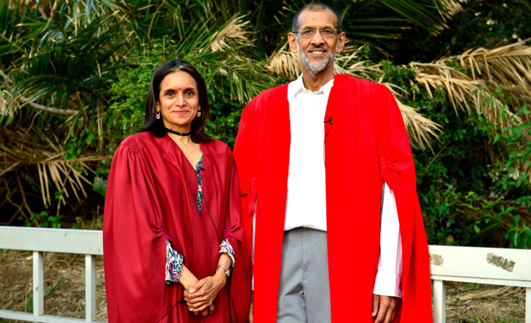 Professors Kalpana Hiralal and Goolam Vahed deliver their Inaugural lectures at the Westville campus.