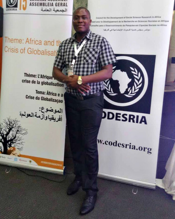 UKZN Research Fellow presents paper at CODESRIA General Assembly Conference