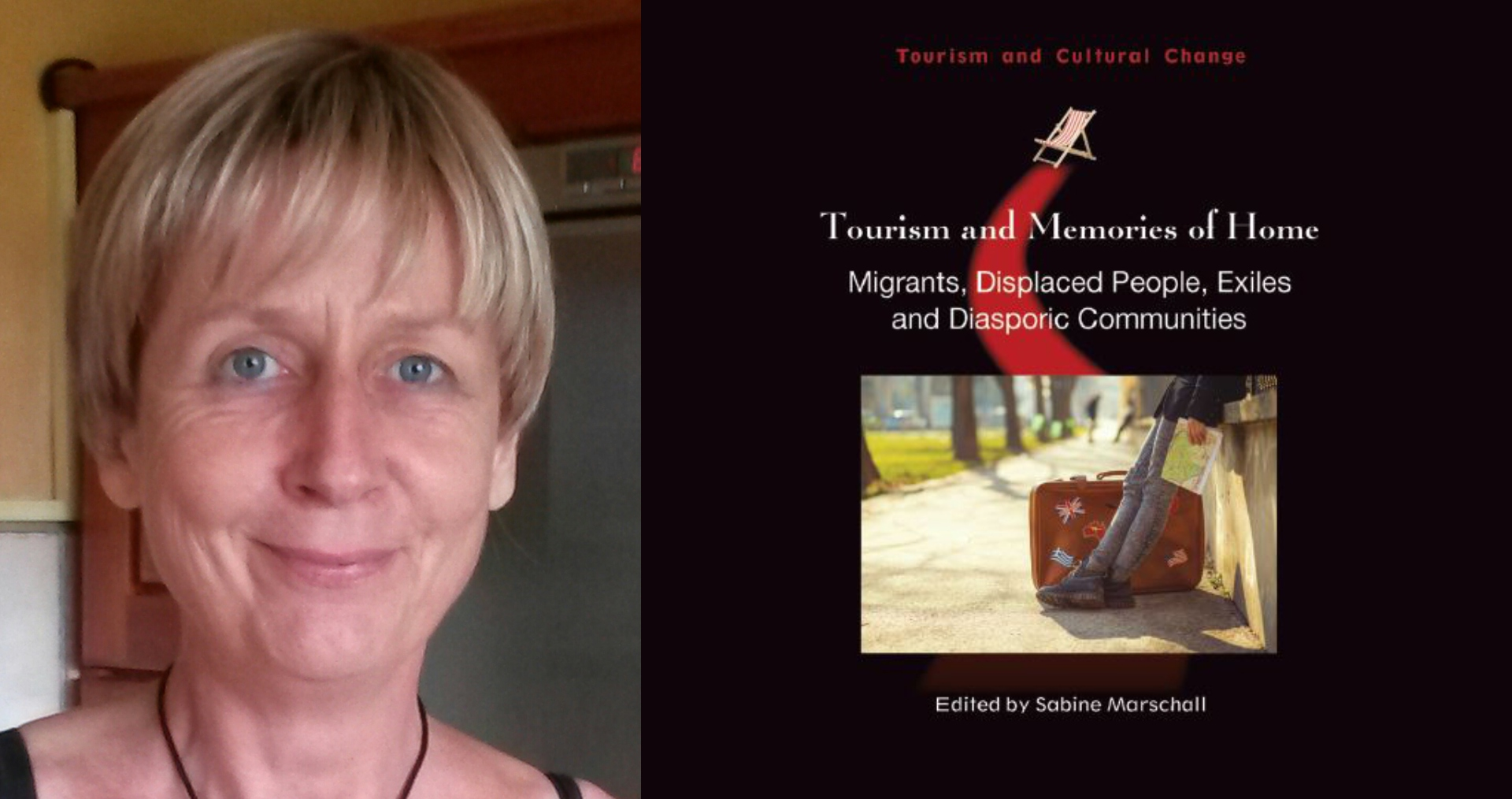 Professor Sabine Marschall and her award-winning book