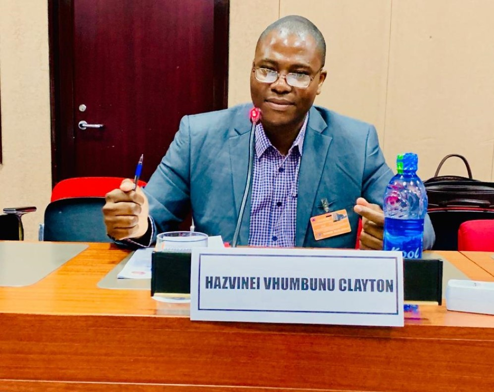 UKZN's Dr Clayton Hazvinei Vhumbunu at the UN African Institute for Economic Development and Planning (UN-IDEP) conference in Dakar, Senegal.