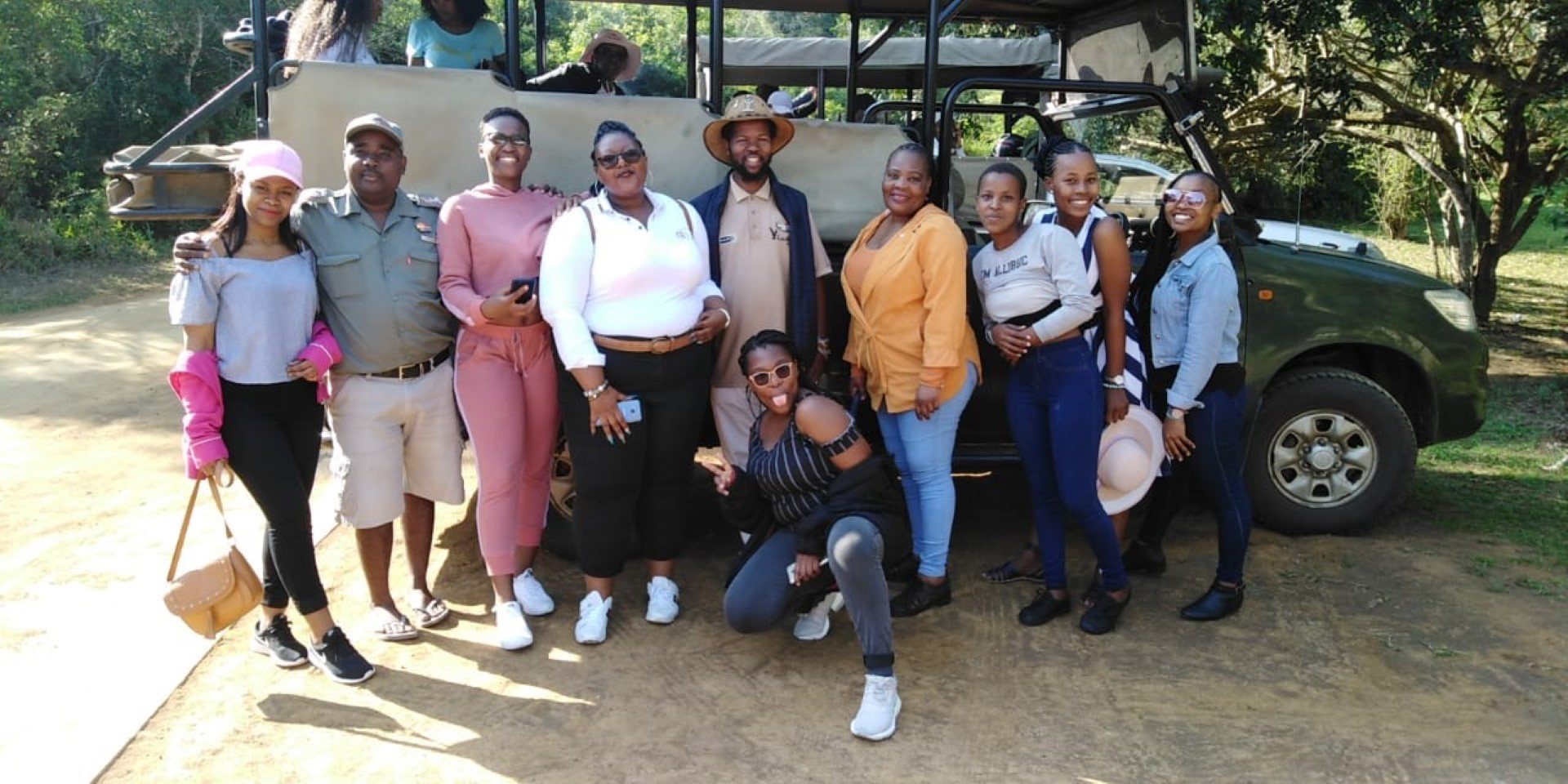 Cultural and Heritage Tourism students and staff during their field trip