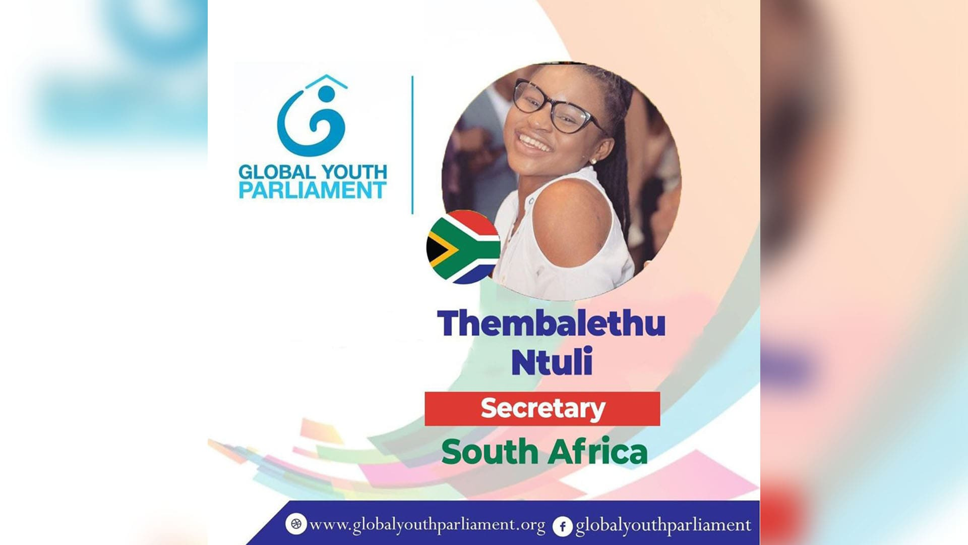 UKZN Student appointed to Global Youth Parliament