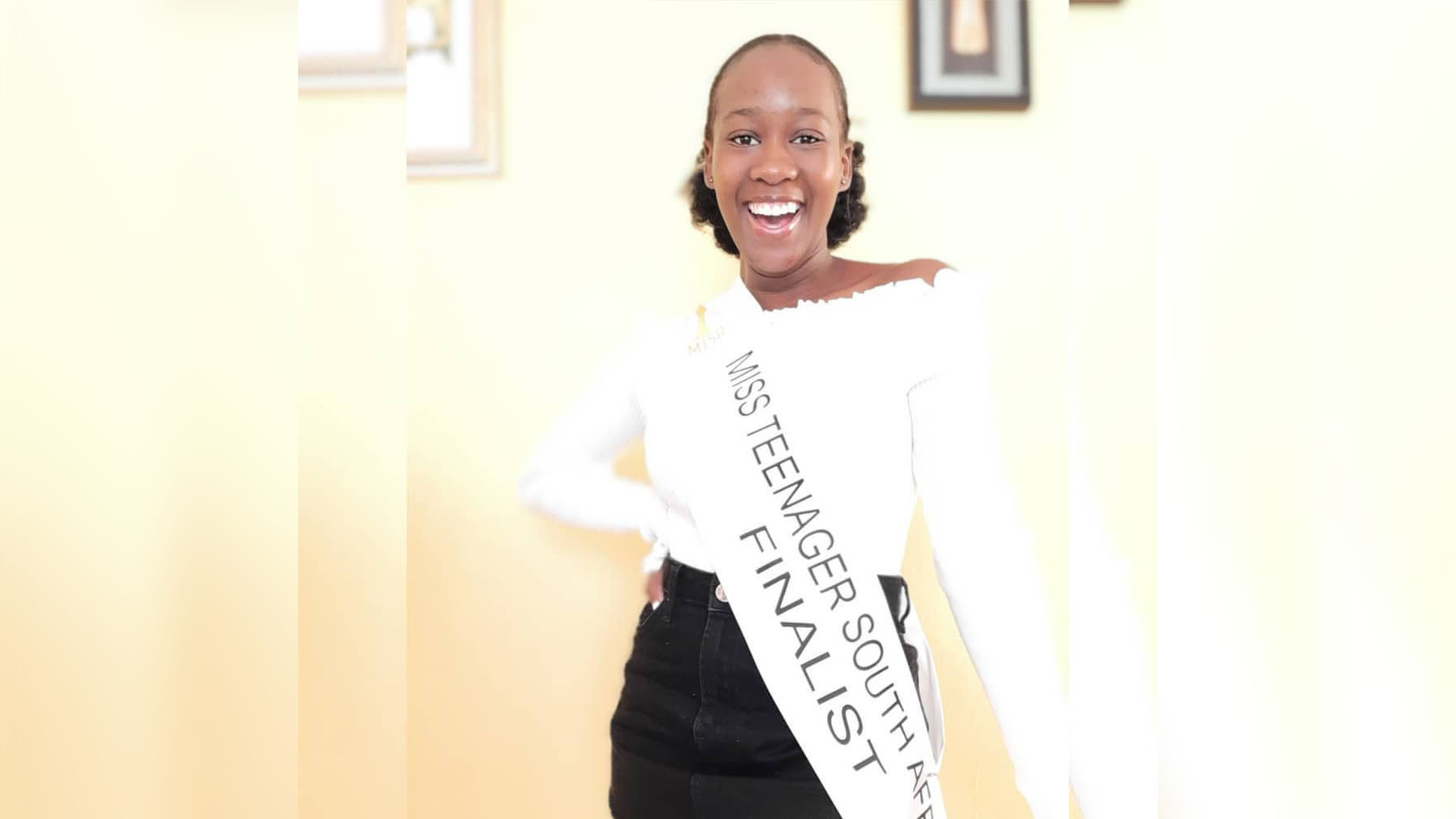 Humanities Student Finalist in Miss Teenager SA Contest
